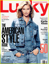 Karlie Kloss Talks Social Media & Her Famous Cookies to 'Lucky' Magazine