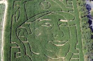 Yep, a New Jersey farm carved a five-acre corn maze in Jeter's honor